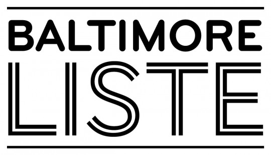 Logotype for the Baltimore Liste show @ the contemporarymuseum