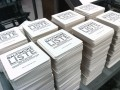 Baltimore Liste Logotype on some promotional Coasters