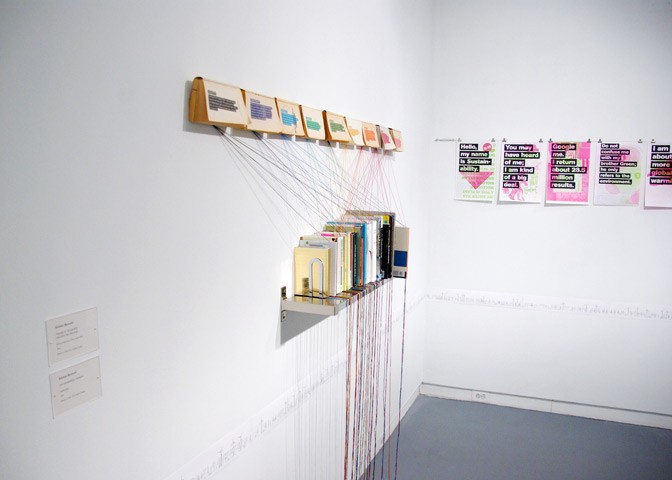 Thesis Installation | Kristian Bjornard [dot] Com